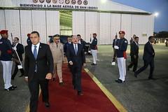 Presidente Danilo Medina sale hacia LIII Reunión de Jefes de Estado y de Gobierno del SICA, en Guatemala