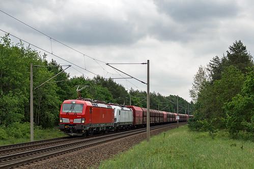 Schwanheide Zweedorf Ziltendorf - Hansaport 193 371-2 193 363-9 Erz