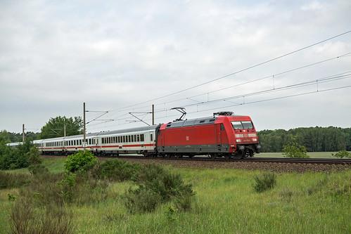 Schwanheide Zweedorf IC 2212 KO - Binz 101 119-6