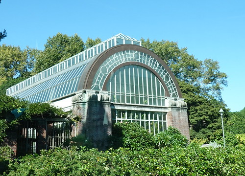Wintergardens in the Auckland Domain