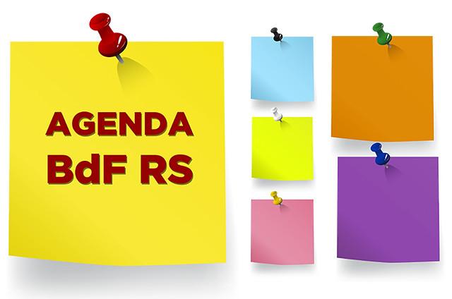 Agenda da semana do dia 09 de dezembro  - Créditos: BdF-RS