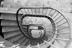 Escalier du pavillon central