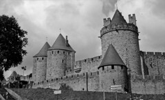 Arribant a Carcassona / Arriving at Carcassonne - Photo of Carcassonne