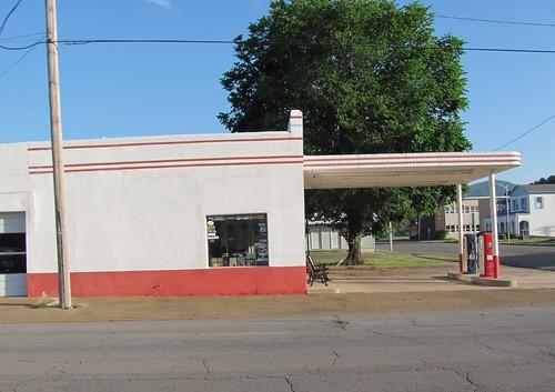 Esso Station, Mena, Arkansas 3