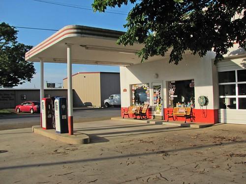 Esso Station, Mena, Arkansas 2