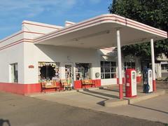Esso Station, Mena, Arkansas