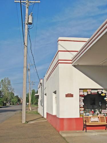 Esso Station, Mena, Arkansas 4