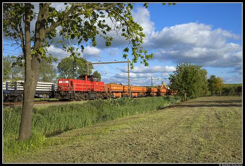 DB Cargo 6416, Leeuwarden/Barrahûs
