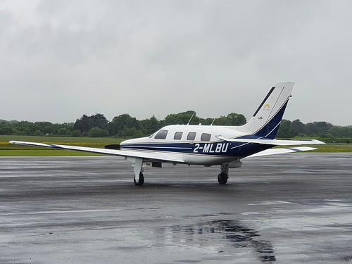 New Piper Inc Piper PA-46-350P Malibu Mirage 2-MLBU seen at Dublin Executive Airport EIWT