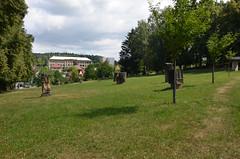 Hořice, sochařský park u sv.Gotharda