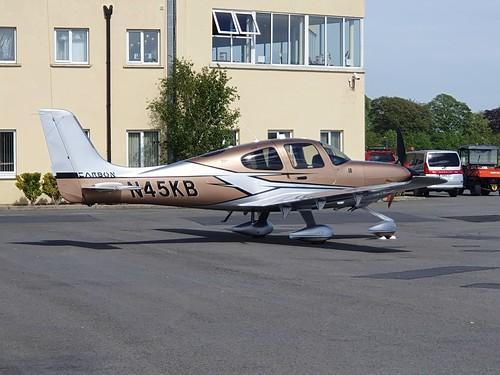 Cirrus Design Corp SR-22T N45KB(3) seen at Dublin Executive Airport EIWT