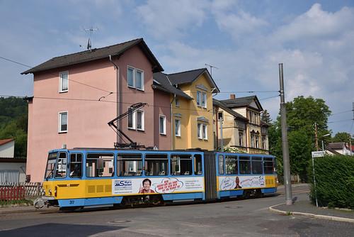 TWSB 317, Waltershausen Brühl, 27-05-2018
