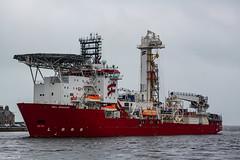 Well Enhancer Arriving Aberdeen Harbour 05/06/2019