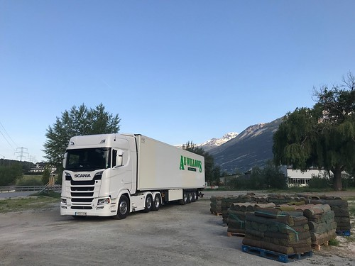 S650 at home in the Alps