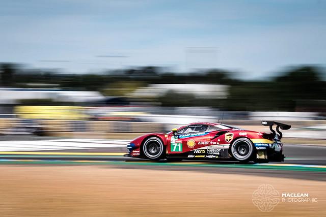 no71 AF Corse Ferrari 488 GTE - Miguel Molina