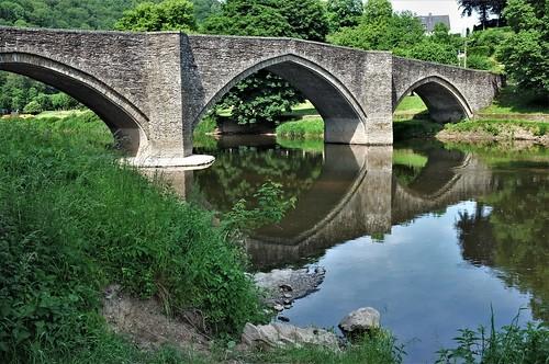 Bouillon - Pont de Cordemoy - reflets