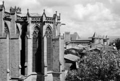 La creu i l'espasa sotmeteren Oc / The cross and the sword ruled without remorse - Photo of Carcassonne