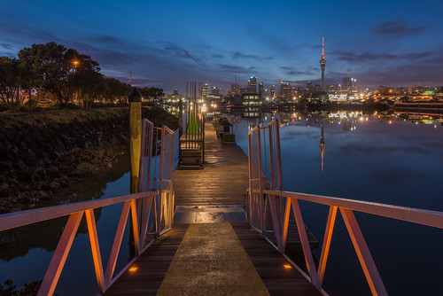 Blue Hour Boardwalk