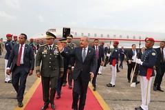 Danilo Medina regresa al país procedente de Guatemala, luego de participar en LIII Reunión de Jefes de Estado y de Gobierno del SICA