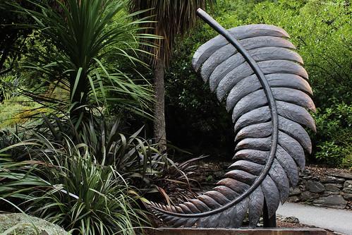 Fougère argentée, symbole de la Nouvelle-Zélande