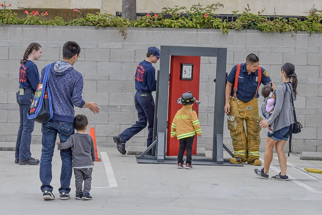 LAFD Station 62 Hosts Special Open House Event