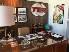 Recreation of Howard Hughes's office