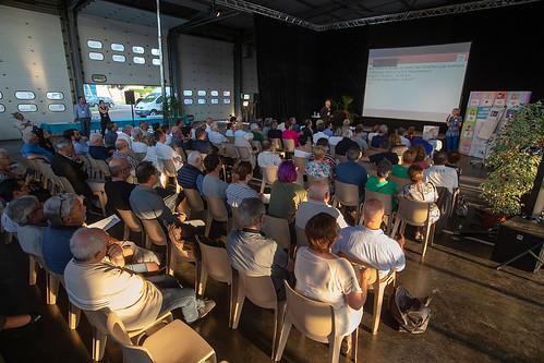Réunion d'élaboration du règlement du budget participatif citoyen au SDIS de Mont-de-Marsan