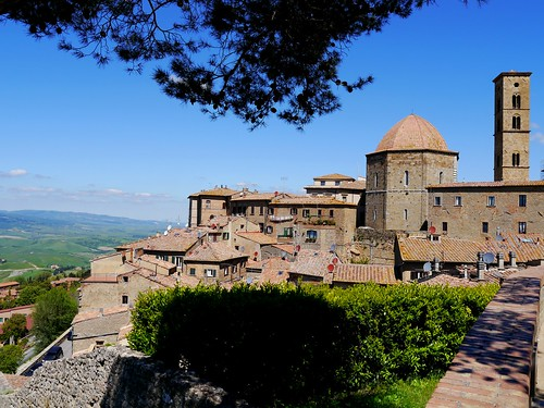 Volterra in der Toskana / Volterra in Tuscany