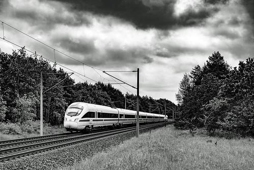Schwanheide Zweedorf ICE 1671 HST - KA sw