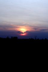 dark day sun