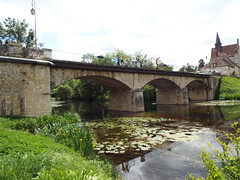 Bridge over the River Anglin - Photo of Lurais