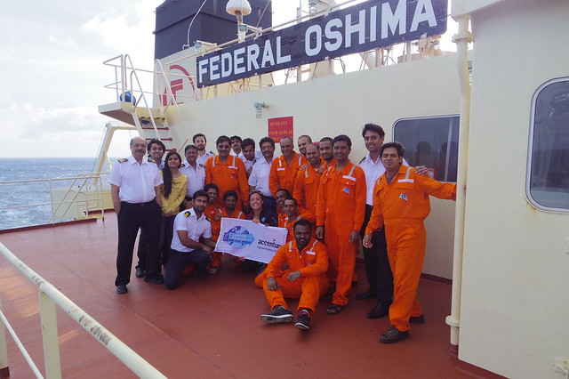 041015_Atlantic 2015_Sarah & crew of Federal Oshima