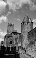 Justicia medieval / Medieval justice - Photo of Carcassonne