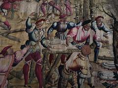 Tapisseries des chasses de Maximilien, château royal de Pau, Béarn, Pyrénées-Atlantiques, Nouvelle-Aquitaine, France. - Photo of Pau