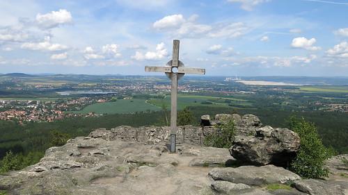 Gipfelkreuz Töpfer - view of 3 countries