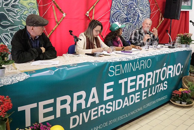 Seminar unites entities, social movements and intellectuals and rural workers in defense of the environment - Créditos: José Bernardes/Brasil de Fato