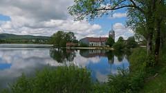 Lac de l'abbaye, vers Saint-Laurent-en-Grandvaux