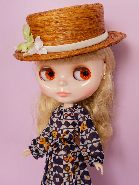 Flouncy Maxi Dress for Neo Blythe