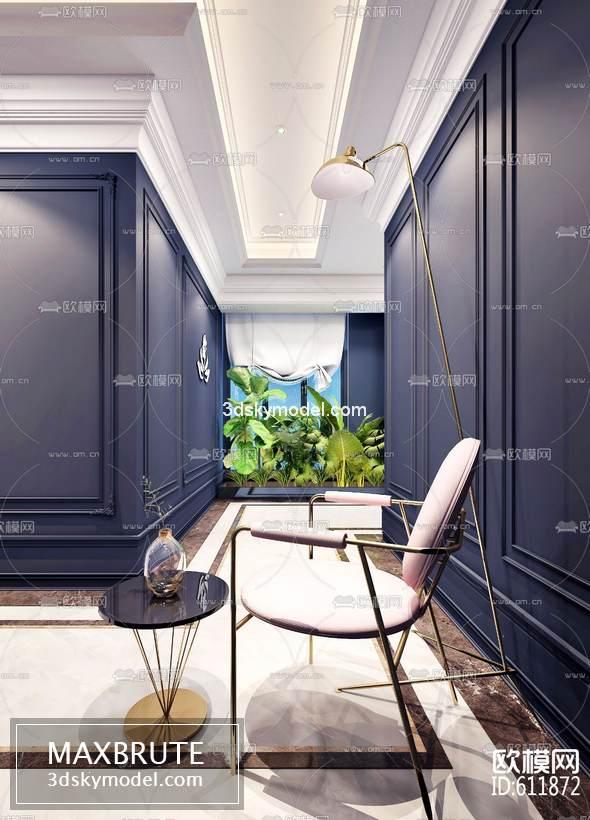 Sell Beauty salon spa set 2019 3d model - Maxbrute Furniture Visualization