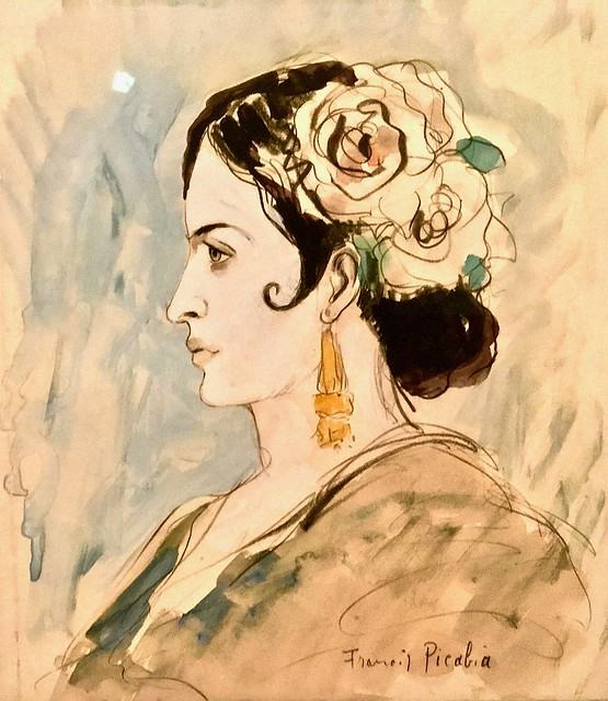 Photo:Portrait of a Spanish Woman (1930) - Francis Picabia (1879-1953) By pedrosimoes7