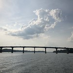 Cloud over the Severn River Bridge, Annapolis, Maryland