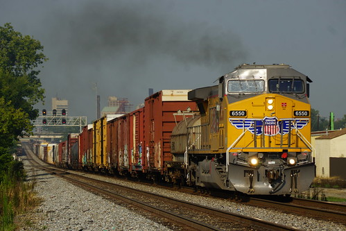 UNION PACIFIC GE AC4400CW #6550 AT BIRMINGHAM, AL