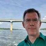 Paul near the Severn River Bridge, Annapolis, Maryland