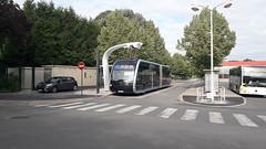 Irizar ie tram 18 m n°707 au terminus Étouvie