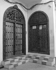 Carved doors, Stone Town, Zanzibar, Tanzania.