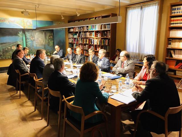 Reunión preparatoria del Foro de Derecho Aragonés