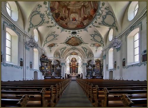 Cham/ZG - parish church St. Jakob