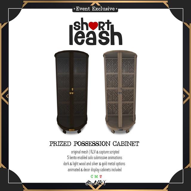 .:Short Leash:. Prized Possession Cabinet