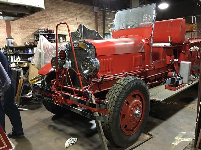 Historical 1928 Seagrave Engine #8 restoration.