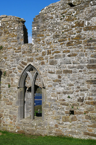 Clonmacnoise Cathedral window 2